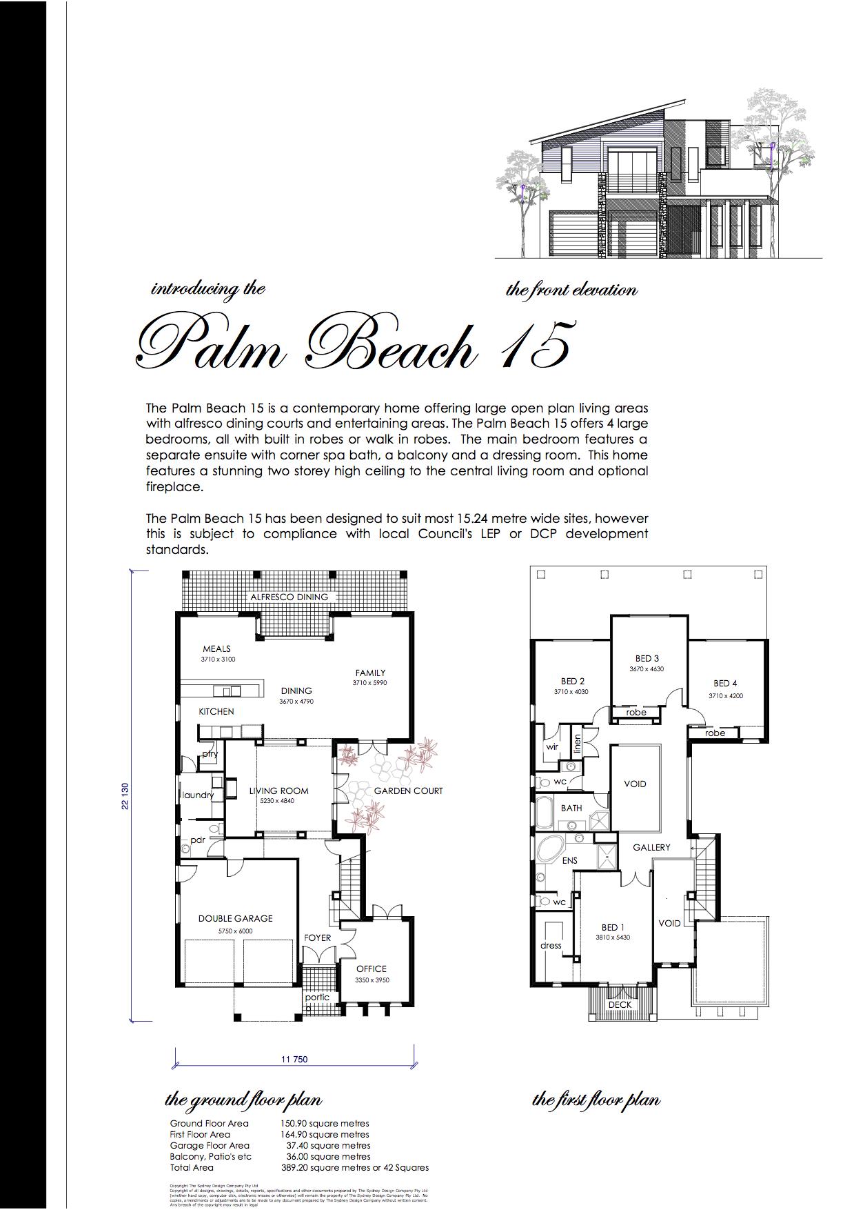 THE PALM BEACH 15